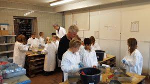Centrum Pæle Søndermarksskolen Vejle Virksomheder adopterer skoleklasser RelationsNetværket Den åbne Skole