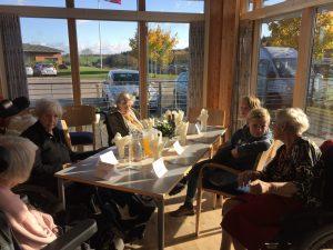 Plejecenter Bakkeager Hældagerskolen Vejle RelationsNetværket Den åbne skole Virksomheder adopterer skoleklasser