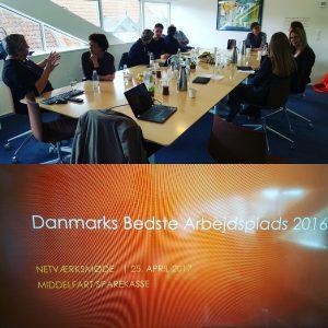 Danmarks Bedste Arbejdsplads Middelfart Sparekasse HR Netværk RelationsNetværket