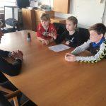 Dagrofa-logistik Hældagerskolen Vejle Virksomheder adopterer skoleklasser RelationsNetværket Den åbne skole