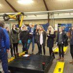 Fanø Kranservice Bohrskolen Virksomheder adopterer skoleklasser RelationsNetværket Den Åbne Skole