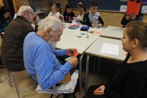 Virksomheder adopterer skoleklasser Plejehjemmet Dalsmark Humlehøjskolen RelationsNetværket