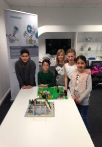 Humlehøjskolen Sønderborg Siemens RelationsNetværket Virksomheder adopterer skoleklasser Den åbne skole