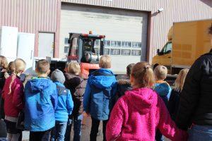 Leasy Virksomheder adopterer skoleklasser Hunderupskolen RelationsNetværket Den åbne skole