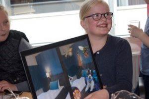 Scandic Odense Sanderumskolen Virksomheder adopterer skoleklasser Den åbne Skole RelationsNetværket