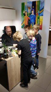 Rotpunkt Harte Skole Sparekassen Kronjylland RelationsNetværket Virksomheder adopterer skoleklasser
