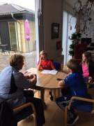 Plejecenter Skovvang Vemmelev Skole Virksomheder adopterer skoleklasser RelationsNetværket Den åbne skole