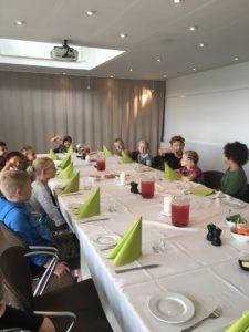 RelationsNetværket Virksomheder adopterer skoleklasser Sinatur Hotel Sixtus Vestre Skole Middelfart