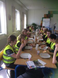 Teknos Aadalsskolen Virksomheder adopterer skoleklasser Kolding Kommune RelationsNetværket Den åbne skole