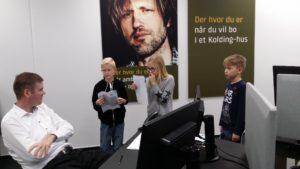Sparekassen Kronjylland Rotpunkt Harte Skole RelaitonsNetværket Virksomheder adopterer skoleklasser Kolding Den Åbne Skole