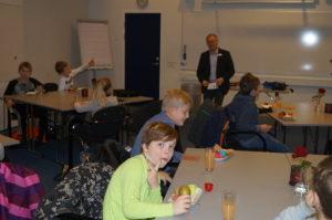 Sinatur Hotel Gl. Avernæs Ebberup Skole Assens Kommune Virksomheder adopterer skoleklasser RelationsNetværket Den åbne skole employer branding