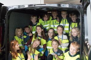 Autohuset Vestergaard Kolding Friskole Virksomheder adopterer skoleklasser RelationsNetværket Den åbne Skole