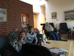 Bakkeager Plejecenter Vejle Kommune Hældagerskolen Virksomheder adopterer skoleklasser RelationsNetværket