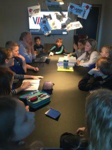 Junge Byg Filskov Friskole Billund Grindsted RelationsNetværket Virksomheder adopterer skoleklasser