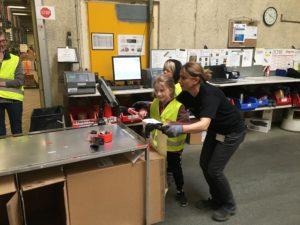 Dagrofa Logistik Skarrild Skole Herning RelationsNetværket Den åbne skole Virksomheder adopterer skoleklasser