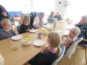 Hvilebjergskolen Plejecenter Skovvang Slagelse Kommune Virksomheder adopterer skoleklasser RelationsNetværket den åbne skole