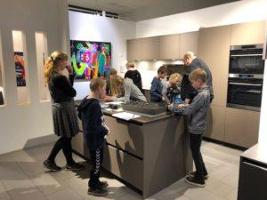 Rotpunkt Køkken Harte Skole Virksomheder adopterer skoleklasser RelationsNetværket