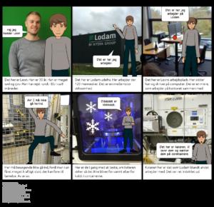 Lodam electronics Humlehøjskolen Sønderborg RelationsNetværket Virksomheder adopterer skoleklasser